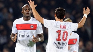 PSG and Montpellier draw as Lyon lose