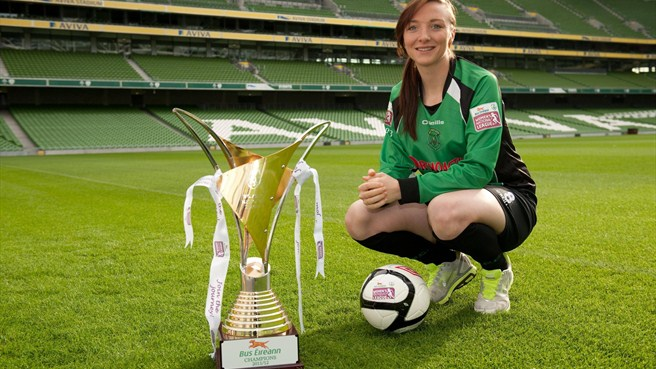 Peamount pair back Irish women's league