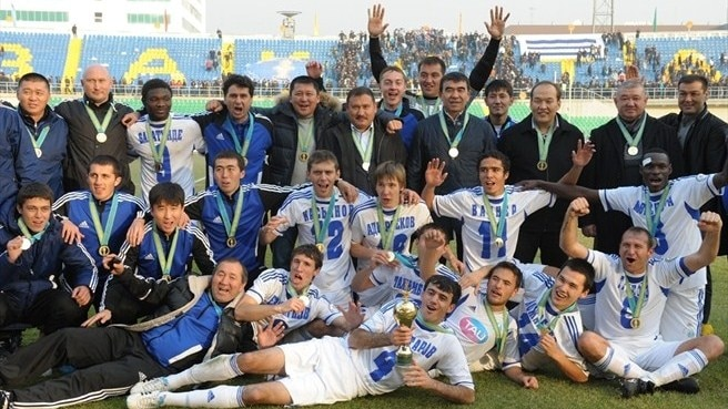 Ordabasy revel in Kazakh Cup glory