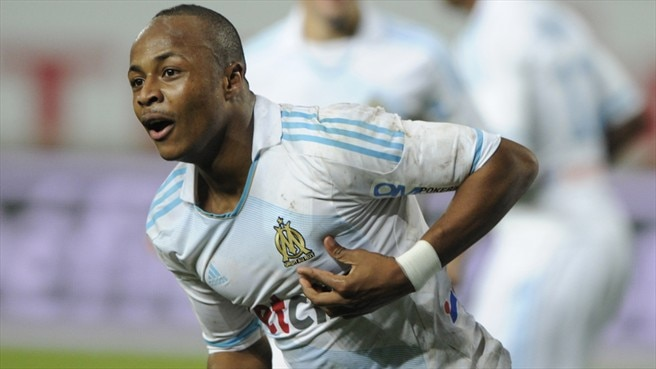 Ayew celebrates birthday with new Marseille deal