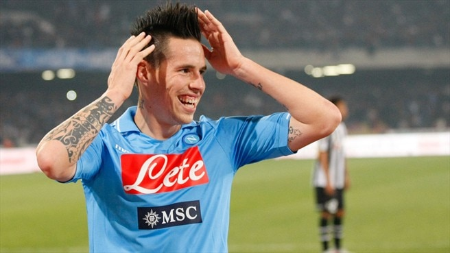 Napoli president announces new Hamšík contract