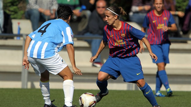 Barcelona women emulating the men