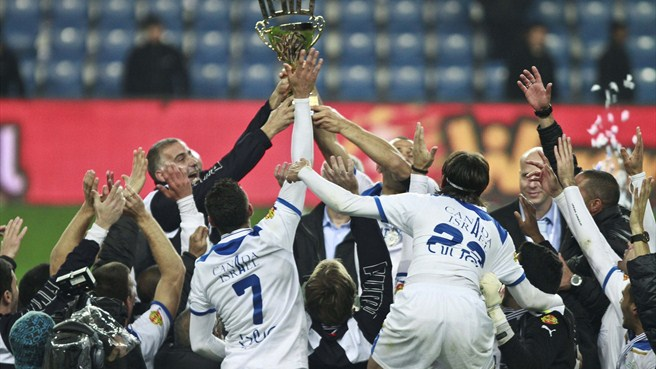Kiryat Shmona celebrate first Israeli title