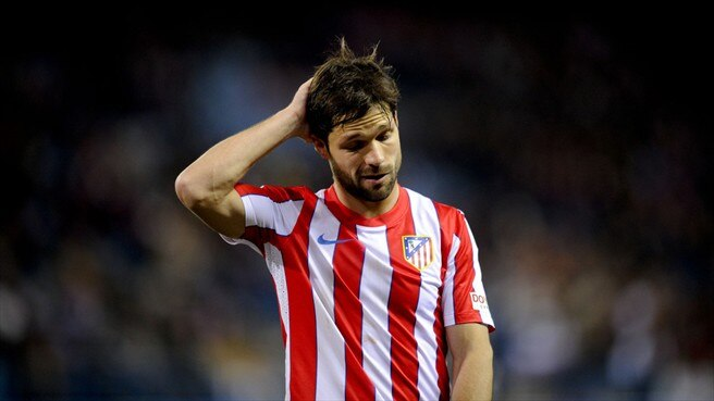 Atlético lose Diego for Lazio return
