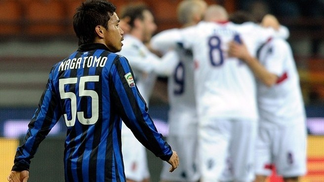 Inter woes compounded by improving Bologna
