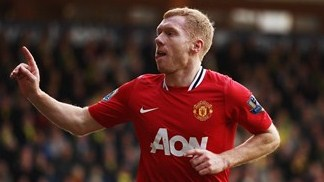 Scholes signs on for another year at United
