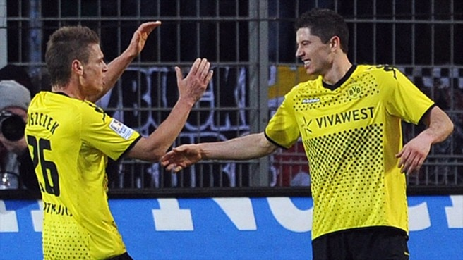 Dortmund's Polish aces in pole position for EURO