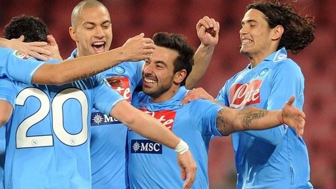 Napoli boosted by Lavezzi's new appetite for goals