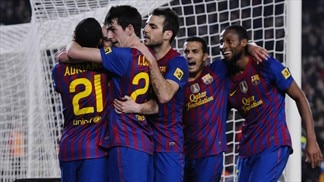 Barcelona cut the gap, Málaga go fourth