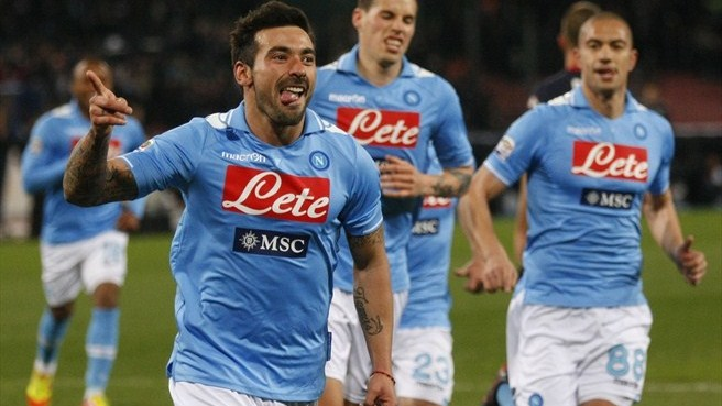 Napoli hit six while Inter end drought