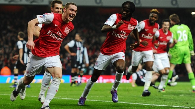 Comeback kings Arsenal maintain winning run