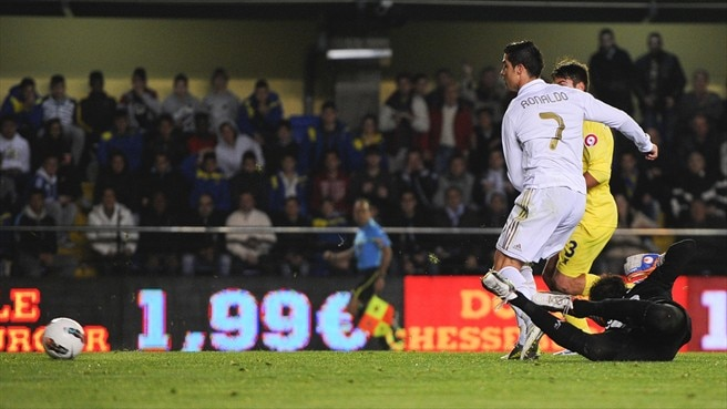 Madrid denied by Villarreal