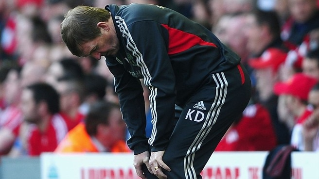 Dalglish leaves Liverpool post