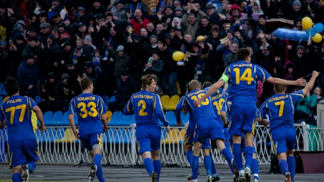 FC BATE Borisov celebrations