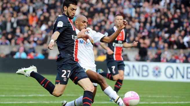 PSG sink Sochaux to keep Montpellier in sight