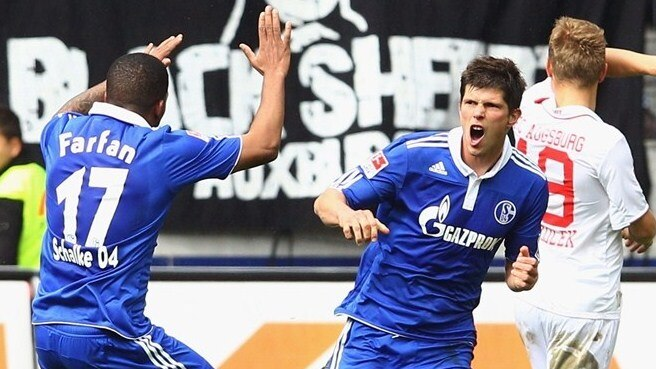 Schalke held at bay by Augsburg