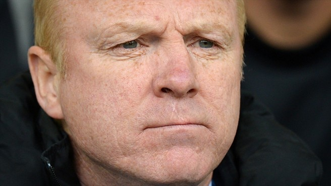 Aston Villa dismiss manager McLeish