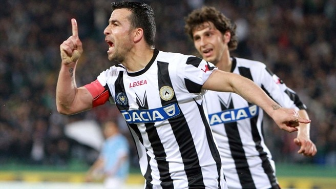 Di Natale recalled for provisional Italy squad