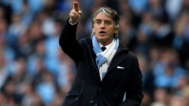 Mancini: 'United are still favourites'