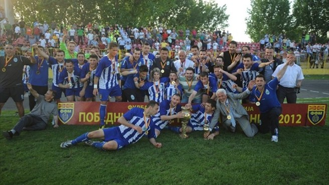 Renova win maiden Macedonian Cup