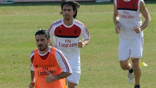 Gattuso and Inzaghi announce Milan farewells