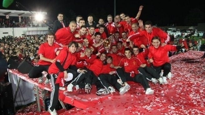 Skënderbeu hold nerve to retain Albanian title