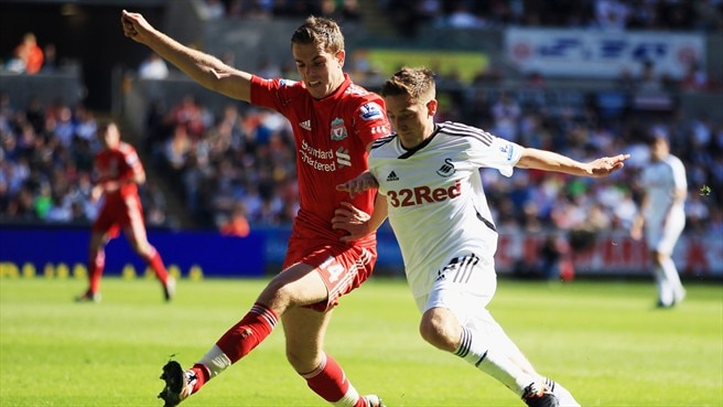 Liverpool's Rodgers returns to Swansea for Allen