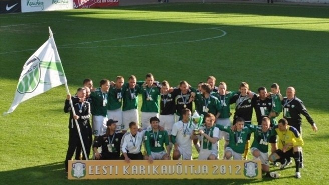 Levadia back on track with seventh cup win