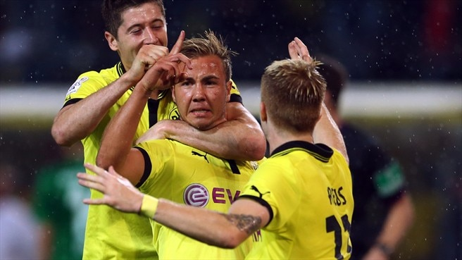 Match facts: Dortmund v Ajax