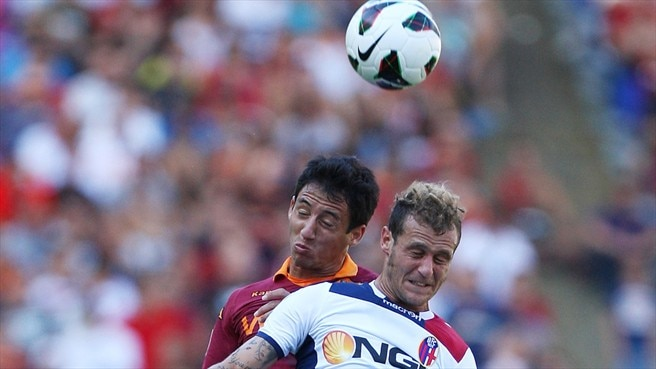 Ivan Piris (AS Roma) & Ivan Piris (Bologna FC)