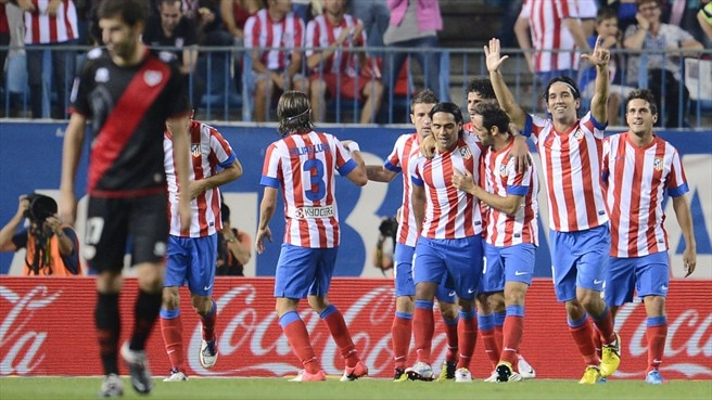 Atlético survive late fright as Rayo rally