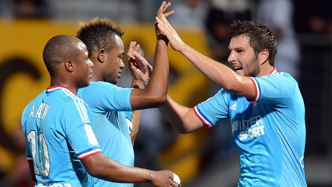 Marseille, Barcelona set impressive early pace