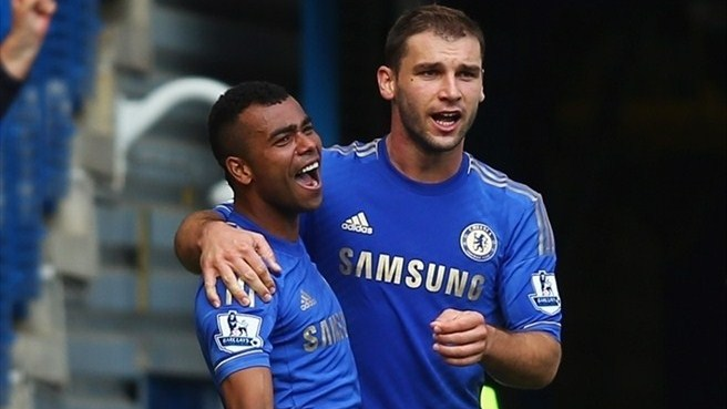 Ashley Cole & Branislav Ivanović (Chelsea FC)