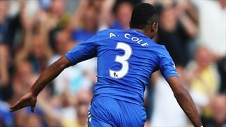 Rare Cole goal rescues leaders Chelsea