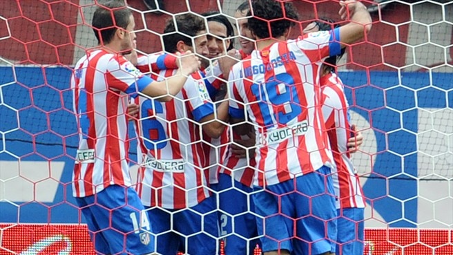 Undefeated Atlético maintain momentum