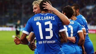 Hoffenheim down Hannover to post first win