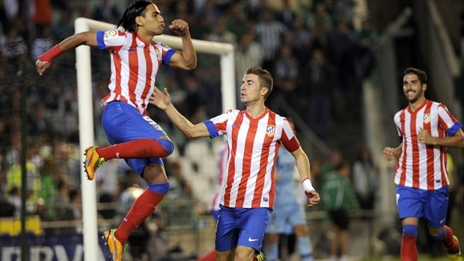 Free-scoring Falcao fires Atlético into second