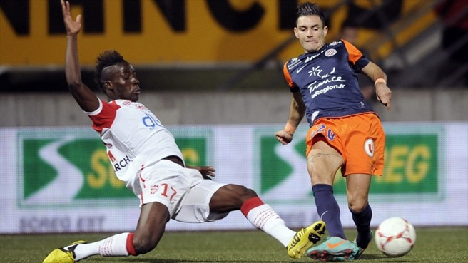 Massadio Haidara (AS Nancy-Lorraine) & Rémy Cabella (Montpellier Hérault SC)