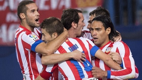 Winning momentum with Atlético and Dnipro