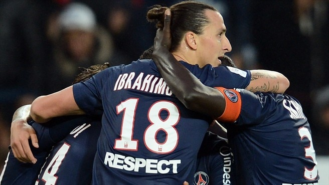 Zlatan Ibrahimović & Kevin Gameiro (Paris Saint-Germain FC)