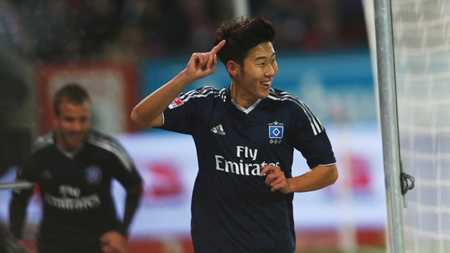 Heung-Min Son (Hamburger SV)