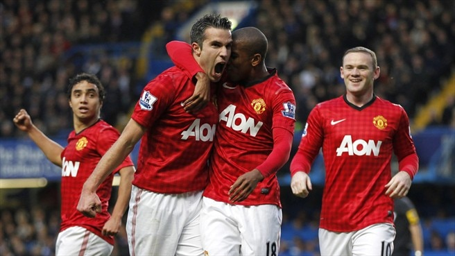 Ashley Young & Robin van Persie (Manchester United FC)