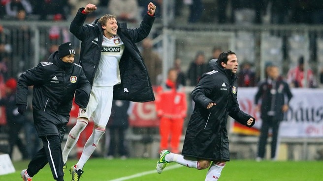 Leverkusen enjoy 'special' Bayern success