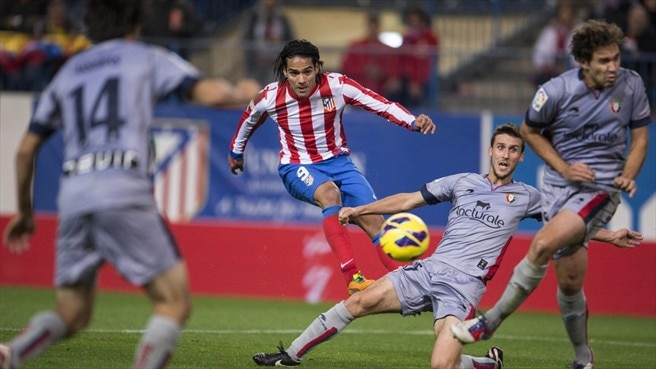 Radamel Falcao Garcia (Club Atlético de Madrid)
