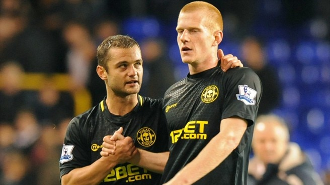 Shaun Maloney & Ben Watson (Wigan Athletic FC)