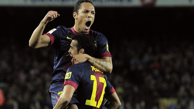 Barcelona without Adriano for Celtic trip