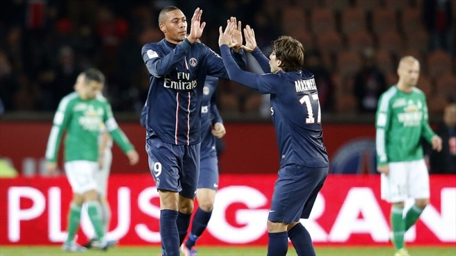 Guillaume Hoarau (Paris Saint-Germain FC)