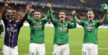 St-Étienne enjoy their win