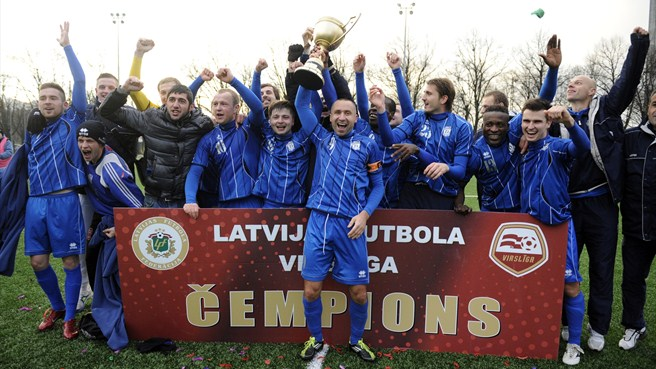Daugava clinch first ever Latvian crown