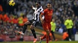 Vurnon Anita (Newcastle United FC) & Raheem Sterling (Liverpool FC)